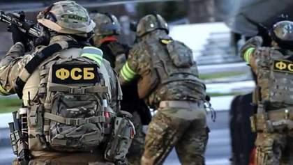 У ФСБ заявили, що затримали українця, який з документами перепливав затоку в Крим