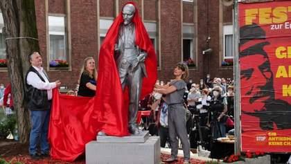 В Германии открыли памятник Ленину: фото