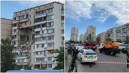 Будинок, який вибухнув на Позняках, вночі від мародерства охоронятиме поліція, – Кличко