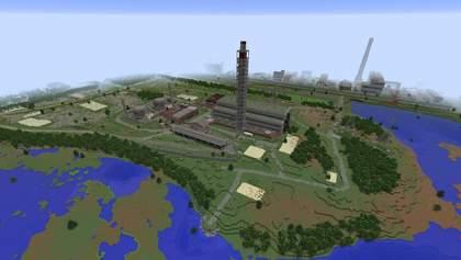 Геймер відтворив Чорнобиль у грі Minecraft: фото