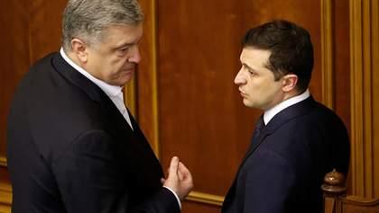 Йому хочеться бути жертвою: Зеленський розкритикував Порошенка і звинуватив його в піарі