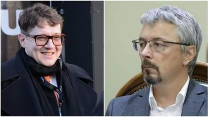 Войны с Россией тогда не было, – Ткаченко резко ответил Хржановскому на слова о Параджанове
