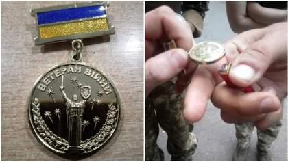 """""""Пластикові"""" медалі для ветеранів АТО: що відомо про гучний скандал із несподіваним фіналом"""