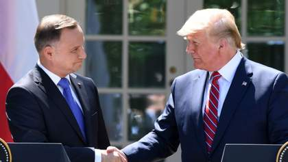 Серйозний сигнал для Росії: Трамп зустрівся з президентом Польщі