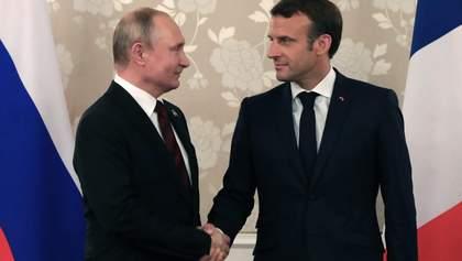 Путин пообщается с Макроном об Украине: подробности от Кулебы