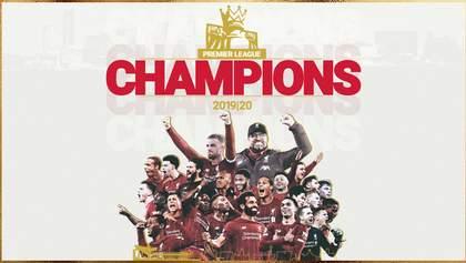 """""""Ліверпуль"""" став чемпіоном Англії – вперше за 30 років"""