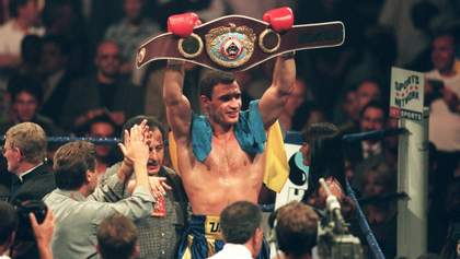 21 рік тому Віталій Кличко завоював перший в історії України пояс чемпіона світу: відео
