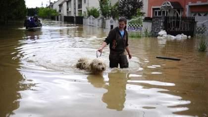 Аваков назвал количество жертв наводнений на западе Украины