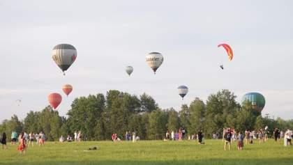 Это всегда авантюра: впечатляющий фестиваль воздушных шаров под Киевом