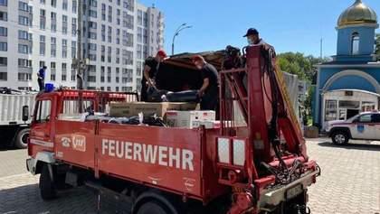 Молдова передає Україні обладнання для ліквідації наслідків повеней