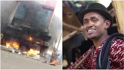 Масштабные протесты, теракты, выключен интернет: Эфиопию возмутило убийство популярного певца