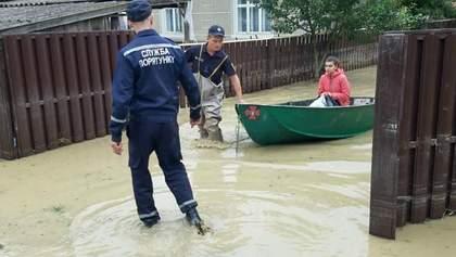 12 населенных пунктов остаются подтопленными из-за непогоды на Западе Украины