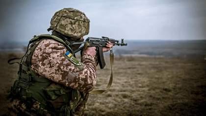 Боевики не прекращают обстрелы: один украинский боец ранен