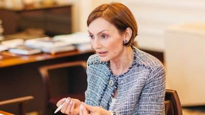 Екатерина Рожкова временно взяла на себя обязанности главы НБУ