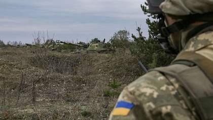 Почти час воины ВСУ отражали атаку боевиков возле Орехового