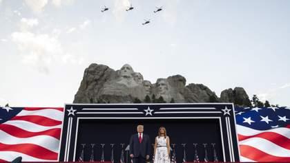 Гучна промова Трампа та майже усі заходи онлайн: як пройшов День незалежності США – 2020 – відео