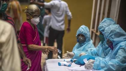Індія вийшла на третє місце за кількістю хворих на COVID-19