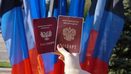 Ким для Києва є українці, що отримали російські паспорти на окупованих територіях