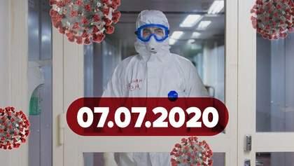 Новости о коронавирусе 7 июля: куда и как можно путешествовать украинцам и новый симптом COVID