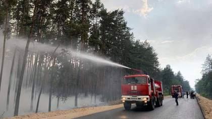 Огонь пошел на новые села, эвакуация затруднена: последние новости о лесных пожарах на Луганщине