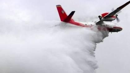 Пожары на Луганщине: Зеленский разрешил использовать авиацию для тушения