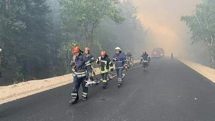 Причина пожаров на Луганщине: полиция рассматривает версию о снаряде от боевиков