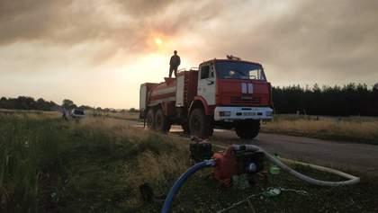 Лесные пожары на Луганщине: спасатели ликвидировали возгорание