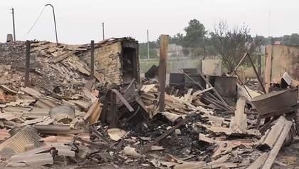 Были и истерика, и слезы: местные жители оправляются от пожаров на Луганщине – фото, видео