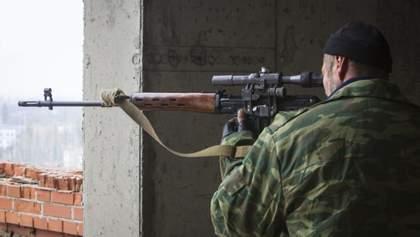 Россия начала чаще использовать снайперов и диверсантов на Донбассе, – разведка