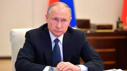 Путін розчарувався в Зеленському