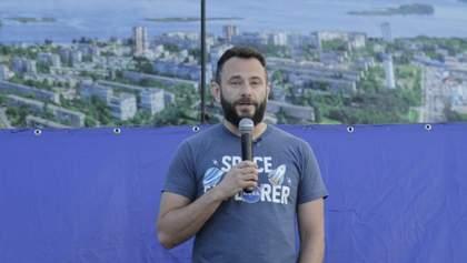 Дубинский сконфузился в прямом эфире на теме коммунальной собственности Киева: видео