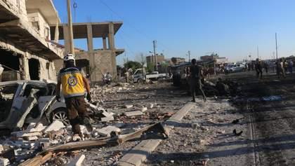 Теракт у границы Сирии и Турции: взорвался автомобиль, много погибших и раненых