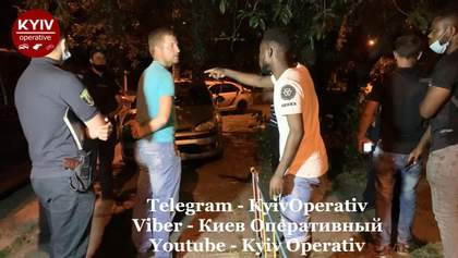 """""""С*ка, бл*дь, чорні"""": п'яні молодики в Києві напали на африканських студентів"""