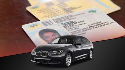 Новые правила выдачи удостоверений водителя: инфографика