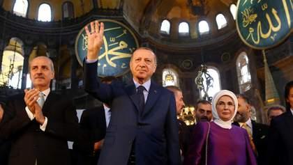 Зміна статусу собору Святої Софії в Стамбулі: що ховається за цим революційним рішенням Ердогана
