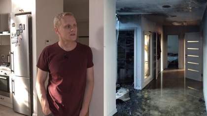 Як виглядає дім Шабуніна після підпалу: моторошні фото, відео