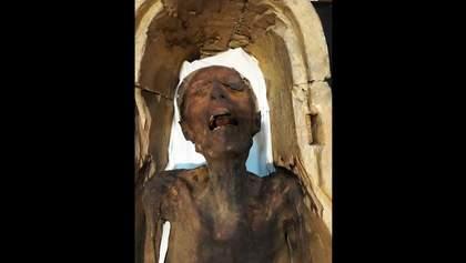 """Вчені розкрили таємницю """"кричущих мумій"""": вражаючі фото й відео"""