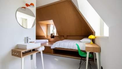 Все в одном: в Нидерландах открыли отель, где каждый номер имеет свой стиль – фото