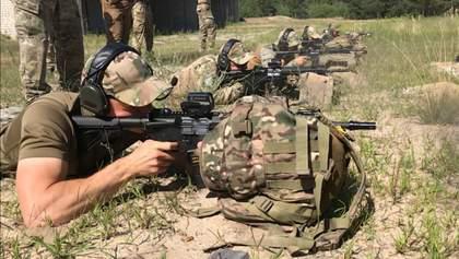 """Больше никаких """"калашей"""": спецназовцы ГПСУ получили штурмовые винтовки, изготовленные в Украине"""