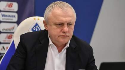 Суркис рассказал об общении с Ахметовым после назначения Луческу