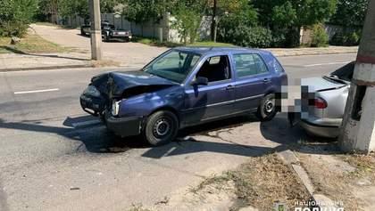 У Миколаєві зіткнулись два легковики, серед постраждалих – діти: фото