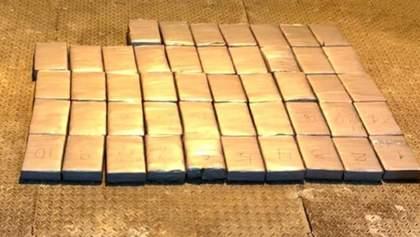 Новый рекорд: в Одесской области задержали более 56 килограммов кокаина из Эквадора