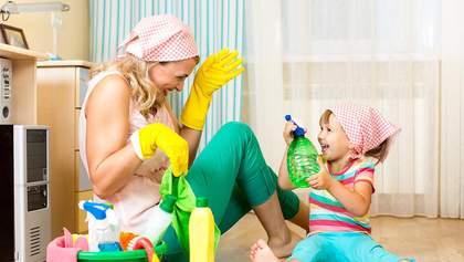 Як навчити дітей допомагати по дому: цікаві поради