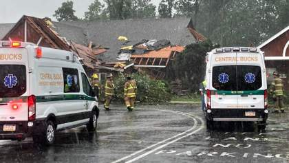 Разрушительный ураган Исаяс накрыл побережье США: фото и видео стихии