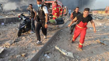 Страшний вибух у Бейруті: кількість жертв зростає