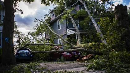 Ураган Ісаяс в Америці: є перші жертви, понад два мільйони людей без електрики