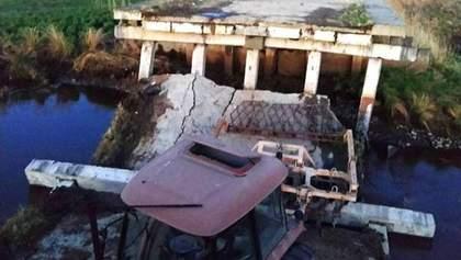 В России во время военных учений рухнул мост: есть пострадавшие