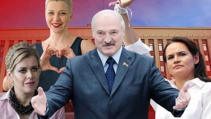 Вибори в Білорусі: Лукашенко проти молодих жінок