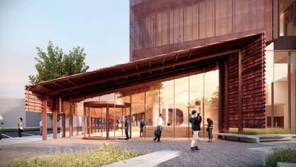 """""""Медный"""" суд: в Австралии построят огромное здание суда с медным фасадом – фото"""