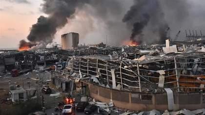 Масштабный взрыв в Бейруте: есть жертвы и пострадавшие среди дипломатов